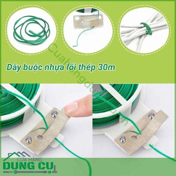 Cuộn dây buộc bọc nhựa 30m