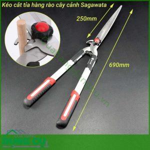 Kéo cắt tỉa hàng rào cây cảnh SagawataKéo cắt tỉa hàng rào cây cảnh Sagawata