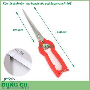 Kéo cắt tỉa cành cây thu hoạch hoa quả P-905