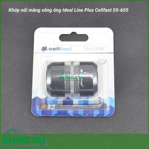 Khớp nối măng sông ống Ideal Line Plus Cellfast 50-605