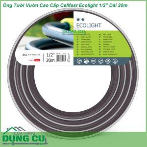 Ống Tưới Vườn Cao Cấp Cellfast Ecolight 1/2″ Dài 20m
