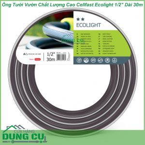 Ống Tưới Vườn Chất Lượng Cao Cellfast Ecolight 1/2″ Dài 30m