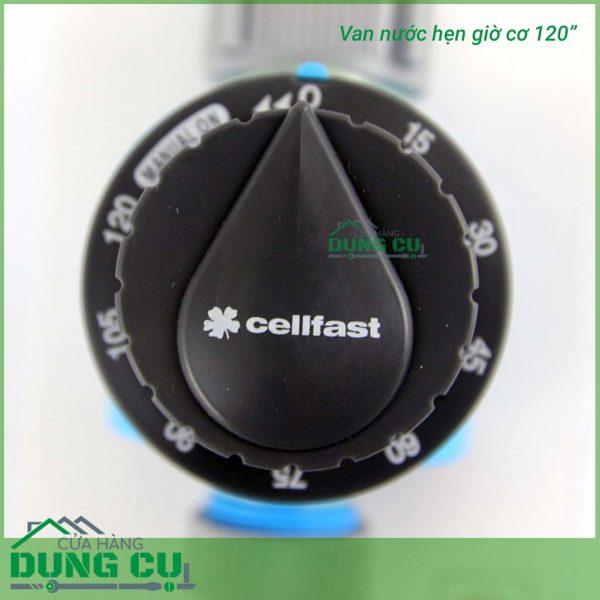 Van nước hẹn giờ cellfast