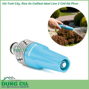 Vòi Tưới Cây, Rửa Xe Cellfast Ideal Line 2 Chế Độ Phun