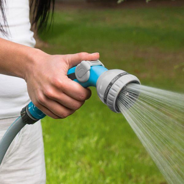 Vòi tưới xịt rửa cao cấp 8 chế độ