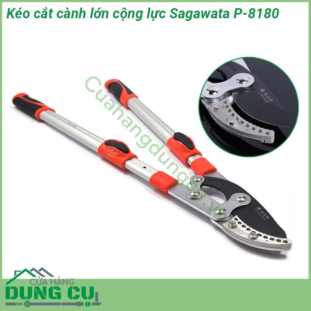 Kéo cắt tỉa cành lớn cộng lực Sagawata P-8180