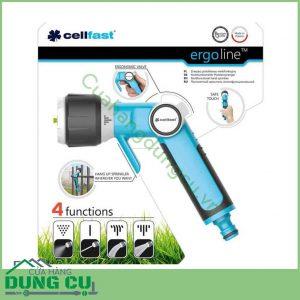 Vòi tưới cây rửa xe cao cấp Cellfast 53-330