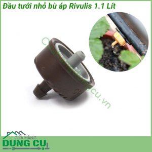 Đầu tưới nhỏ giọt bù áp Rivulis 1.1L
