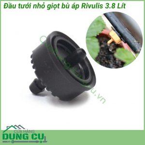 Đầu tưới nhỏ giọt bù áp Rivulis 3.8L