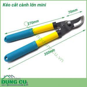 Kéo cắt cành cán dài miniKéo cắt cành cán dài mini