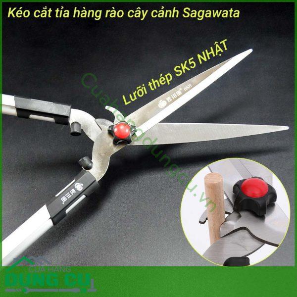 Kéo cắt tỉa hàng rào cây cảnh Sagawata
