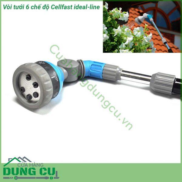 Vòi tưới cần nối dài 6 chế độ cellfast